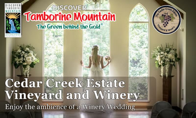 Cedar Creek Lodges Weddings
