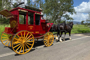 Cobb and Co Wagon Tours on Tamborine Mountain