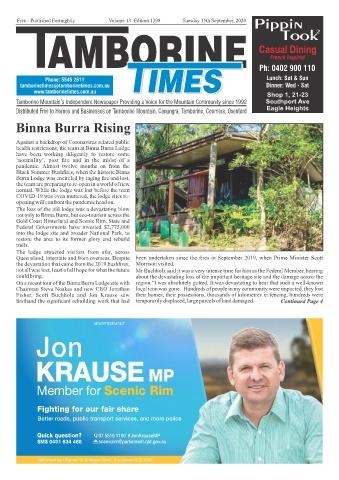 Tamborine Times Sept 15 2020